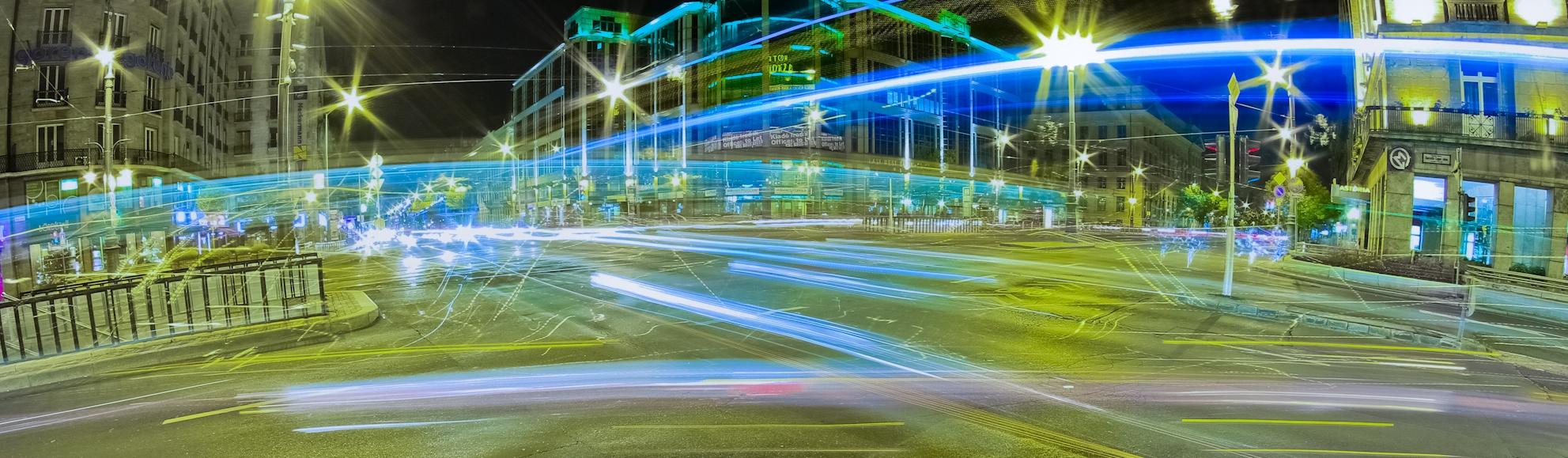 Közlekedésbiztonság nagy forgalmú helyeken